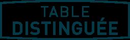 TABLE DISTINGUEE FILET
